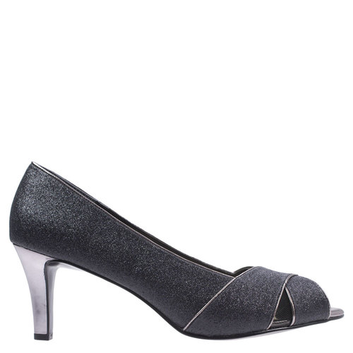 Osanna [Colour: Black Glitter] [Size: 10]