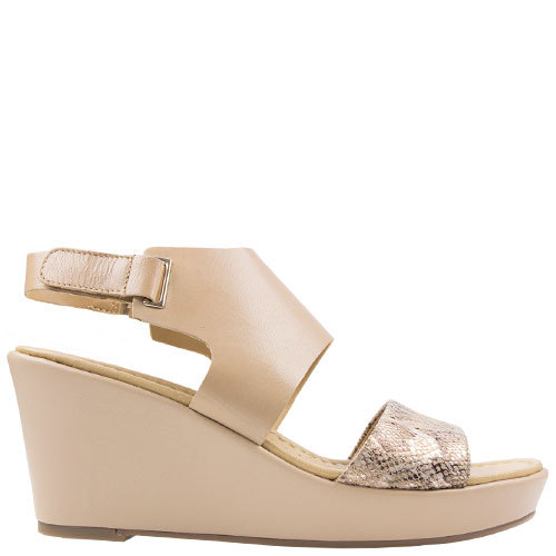 Nenna [Colour: Taupe Snake] [Size: 10]