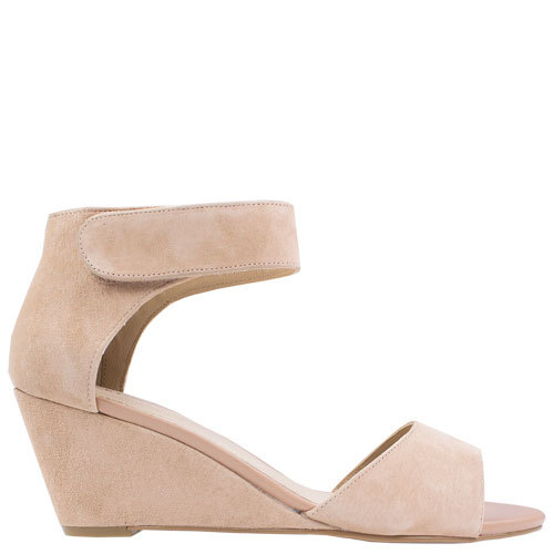 Iris [Colour: Blush Suede] [Size: 10]