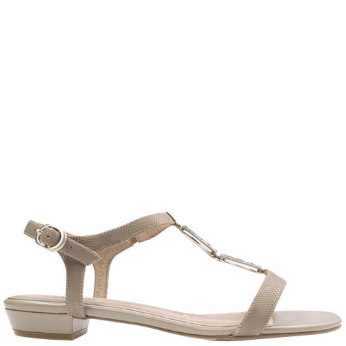 Hindlie [Colour: Taupe Lizard] [Size: 10]