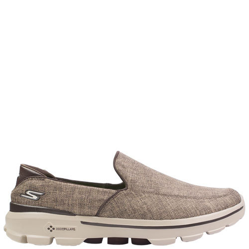 Go Walk 3 Ignite [Colour: Brown Tweed] [Size: 12]