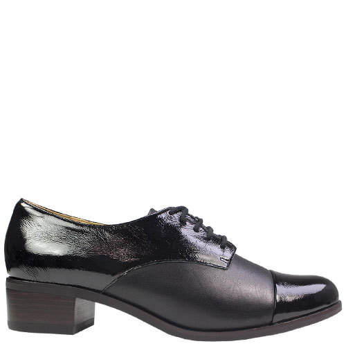Zara [Colour: Black/Patent Black] [Size: 43]