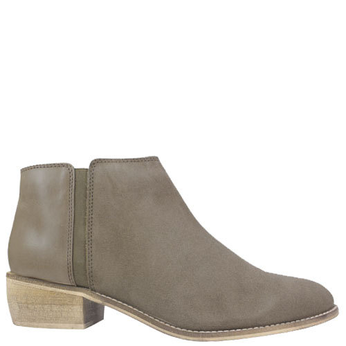 Delta [Colour: Taupe Suede] [Size: 10]