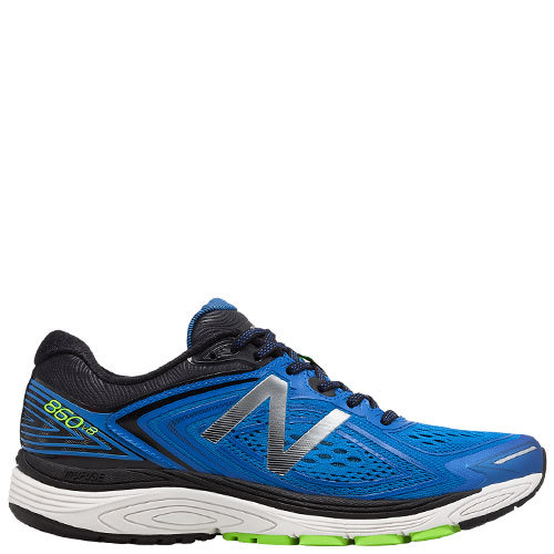 860v8 (2E) [Colour: Vivid Cobalt Blue/Energy Lime/Black] [Size: 12]