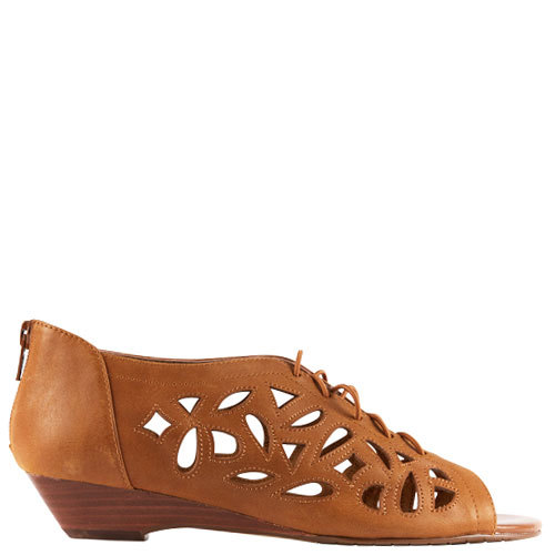 Belina [Colour: Dark Tan] [Size: 10]