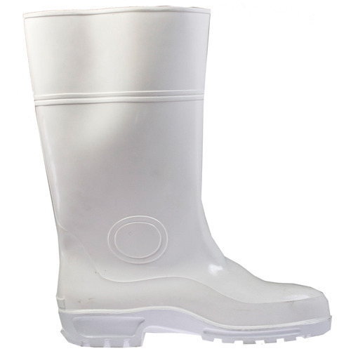 Gumboots Steel Toe [Size: 12] [Colour: White]