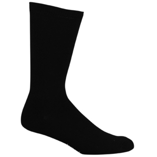 Mens Black Comfort Business Socks [Size: 14 - 18]