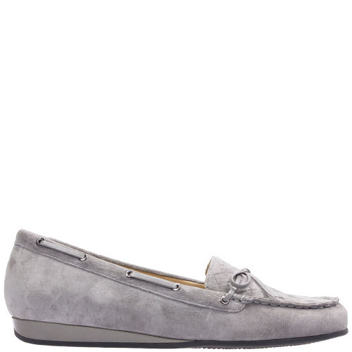 Hooper [Colour: Grey Suede] [Size: 10]
