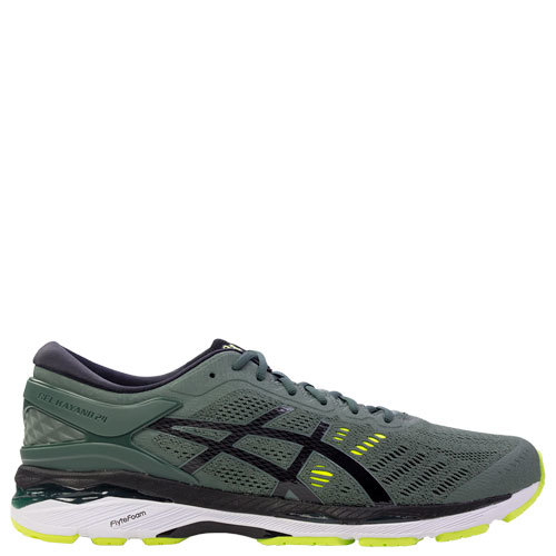 Kayano 24 - Mens [Forest/Black/Safety Yellow] [Size: 13]