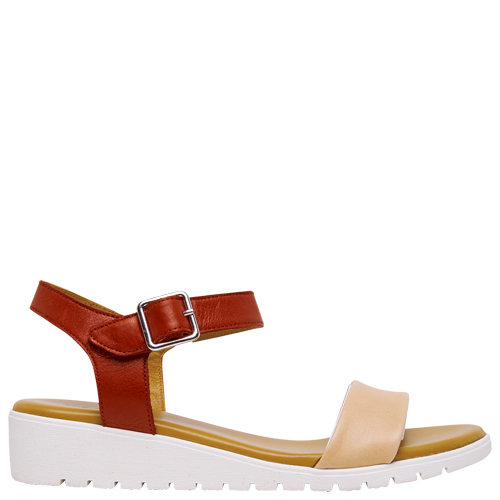Hynes [Colour: Blush/Red] [Size: 10]