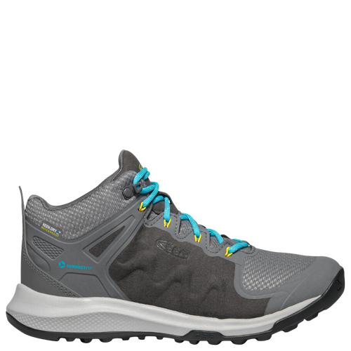 Explore Mid WP [Colour: Steel Grey/Turquoise] [Size: 10]