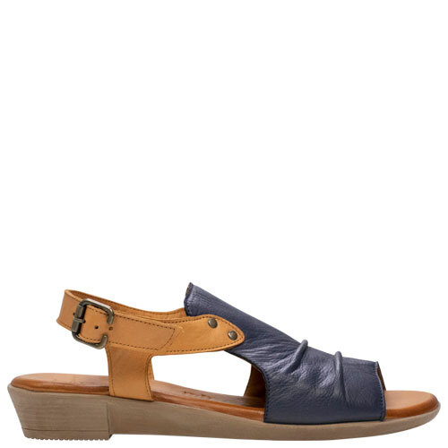 Aliah [Colour: Navy/Coconut] [Size: 44]
